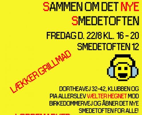 Sammen om det nye Smedetoften (sommerfest 2014)